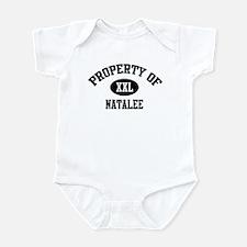 Property of Natalee Infant Bodysuit