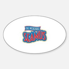 The Incredible Seamus Decal