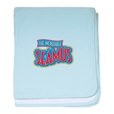 The Incredible Seamus baby blanket