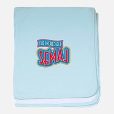 The Incredible Semaj baby blanket