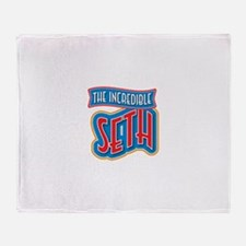 The Incredible Seth Throw Blanket