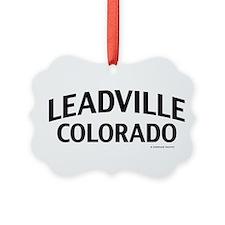 Leadville Colorado Ornament