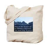 Mt whitney Canvas Totes
