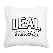 Leal Colorado Square Canvas Pillow