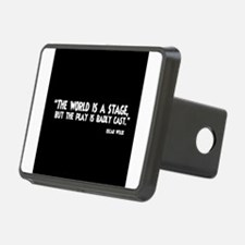 The World Is A Stage Hitch Cover