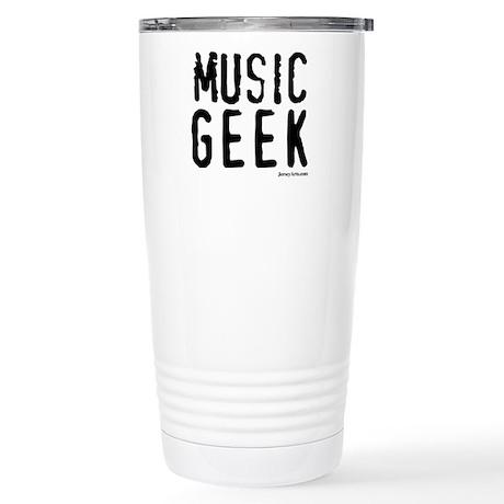 Music Geek Stainless Steel Travel Mug