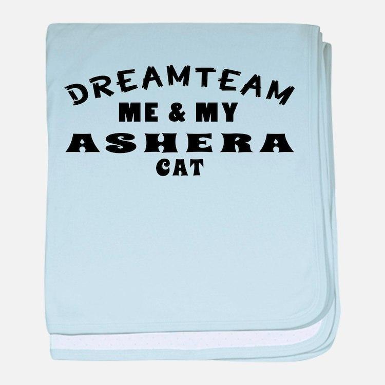 Asher Cat Designs baby blanket