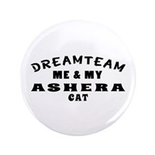 """Asher Cat Designs 3.5"""" Button"""