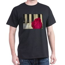 ROSE ON PIANO T-Shirt
