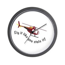 Fly It Like You Stole It! Wall Clock