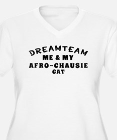Afro-Chausie Cat Designs T-Shirt