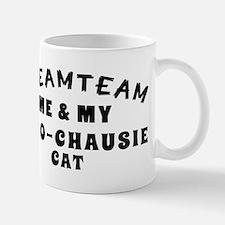 Afro-Chausie Cat Designs Mug