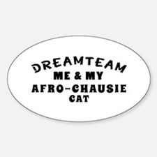 Afro-Chausie Cat Designs Decal