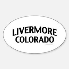 Livermore Colorado Decal