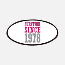 Survivor Since 1978 Patches