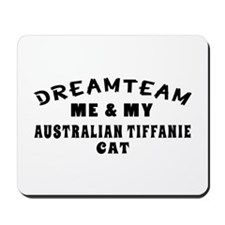 Australian Tiffanie Cat Designs Mousepad