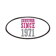 Survivor Since 1971 Patches