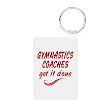 Gymnastics Coaches Keychains
