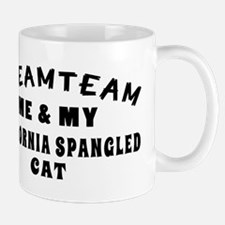 California Spangled Cat Designs Mug