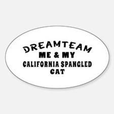 California Spangled Cat Designs Decal