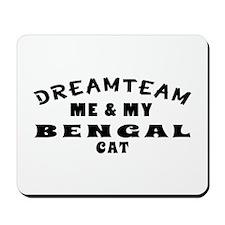 Bengal Cat Designs Mousepad