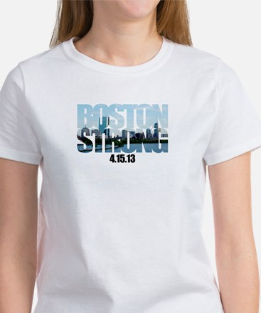 Boston Strong Skyline Women's T-Shirt