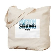 Boston Strong Skyline Tote Bag