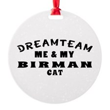 Birman Cat Designs Ornament