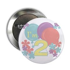 2nd Pastel Birthday Button