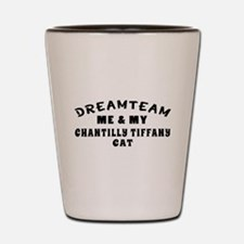 Chantilly Tiffany Cat Designs Shot Glass