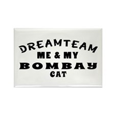 Bombay Cat Designs Rectangle Magnet