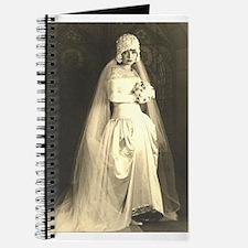 Vintage Wedding the Bride Journal