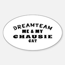 Chausie Cat Designs Decal