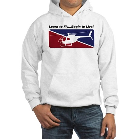 Learn To Fly . . . Live! Hooded Sweatshirt