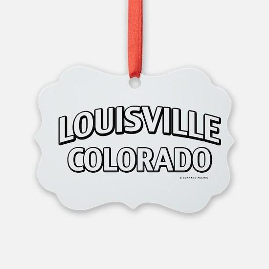 Louisville Colorado Ornament