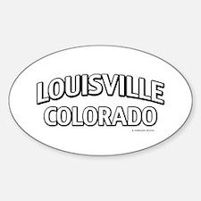 Louisville Colorado Decal
