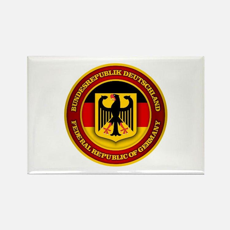 German Emblem Rectangle Magnet