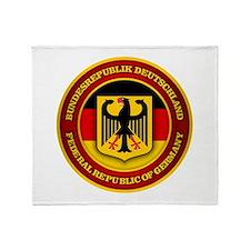 German Emblem Throw Blanket