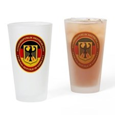 German Emblem Drinking Glass