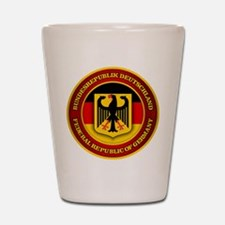 German Emblem Shot Glass