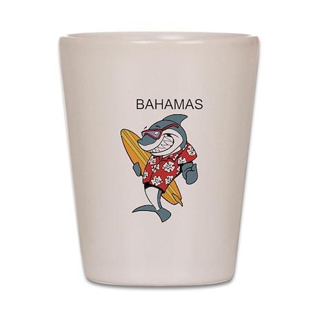 Bahamas Shot Glass