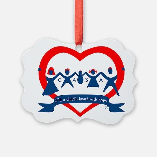 Delaware County CASA Logo Ornament