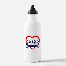 Delaware County CASA Logo Water Bottle
