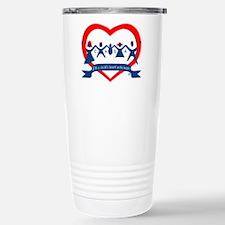 Delaware County CASA Logo Travel Mug