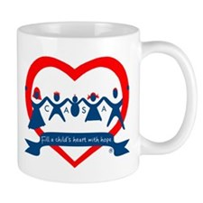 Delaware County CASA Logo Mug