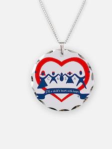 Delaware County CASA Logo Necklace