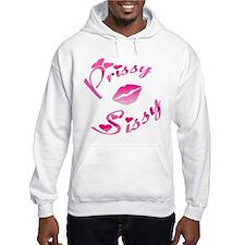Pissy Sissy Pink Lips Hoodie