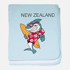 New Zealand baby blanket