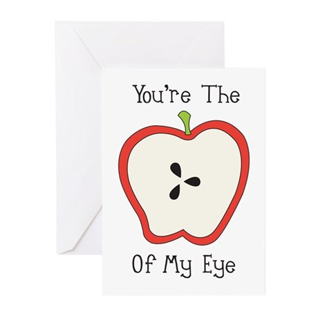 Apple Of My Eye Greeting Cards (Pk of 20)