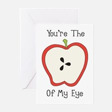 Apple Of My Eye Greeting Cards (Pk of 10)